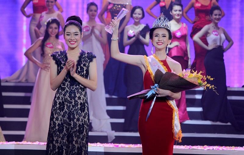 Đặng Thị Thu Hồng đoạt Nữ sinh viên VN duyên dáng 2016 - ảnh 12