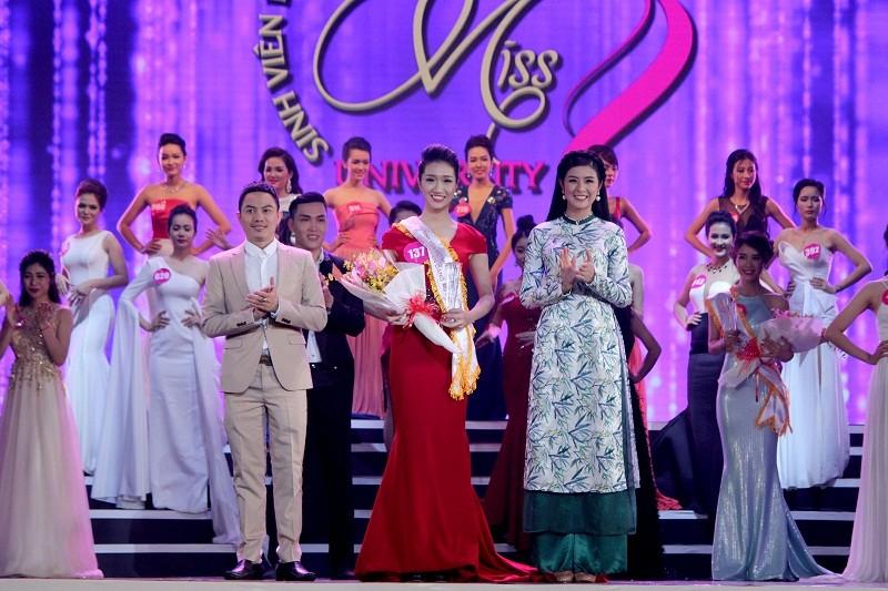 Đặng Thị Thu Hồng đoạt Nữ sinh viên VN duyên dáng 2016 - ảnh 16