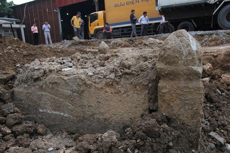 Cận cảnh mộ cổ được phát hiện trong bưu điện Phú Thọ - ảnh 6