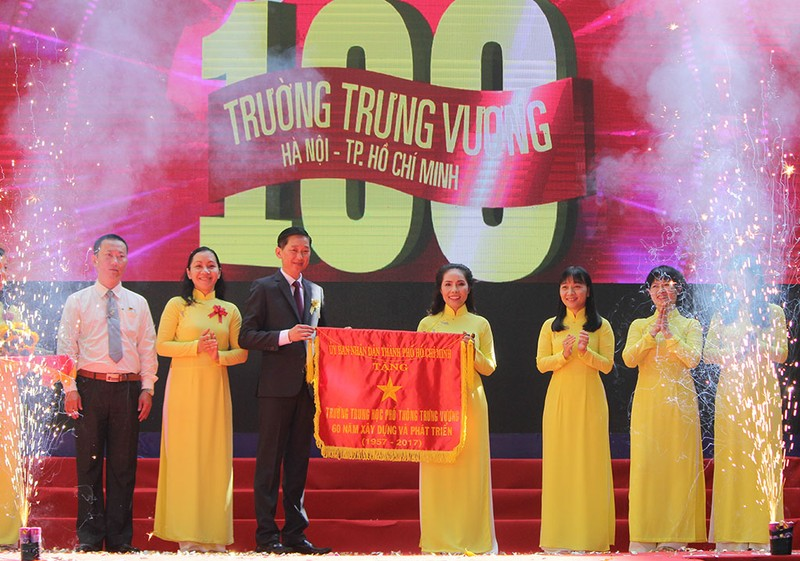 100 năm Trường THPT Trưng Vương  - ảnh 1