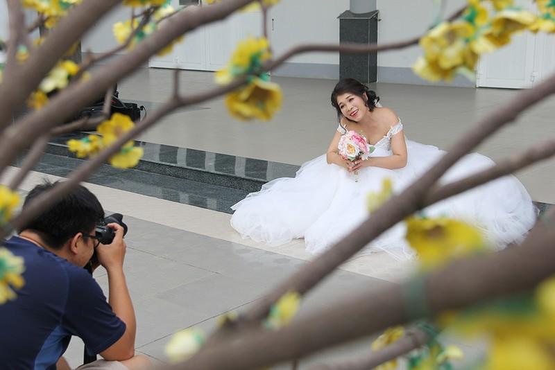 Bạn đọc chụp ảnh cưới cho cặp đôi 'Tình yêu cổ tích' - ảnh 4