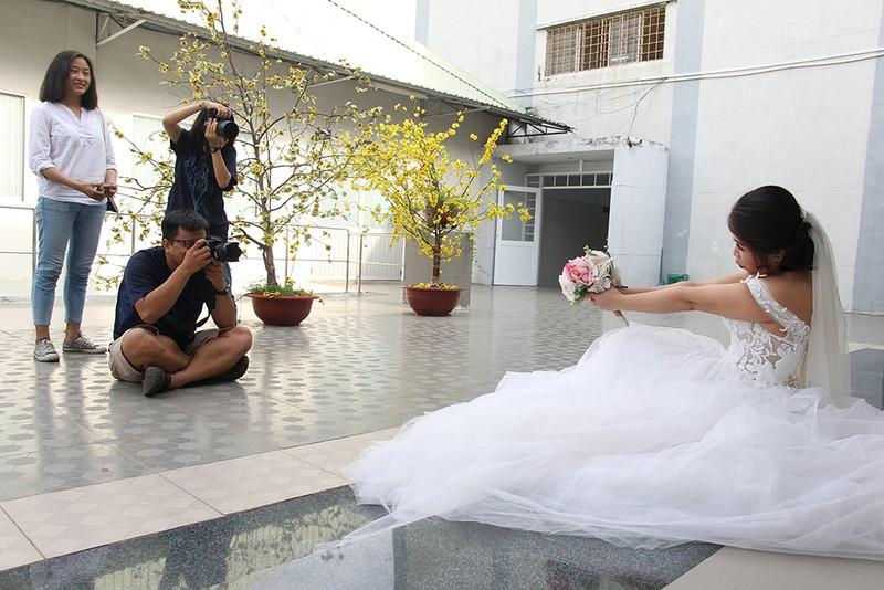Bạn đọc chụp ảnh cưới cho cặp đôi 'Tình yêu cổ tích' - ảnh 5