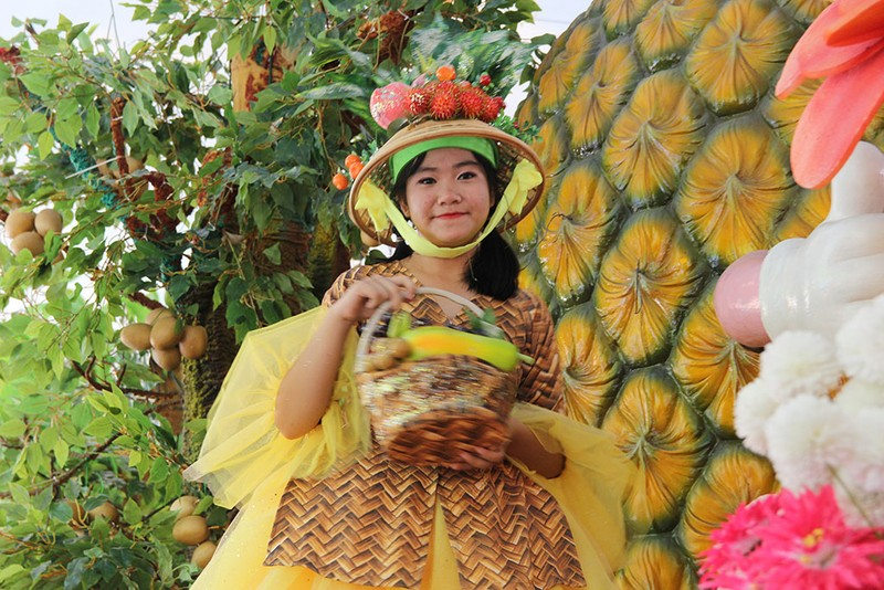 Ngắm bóng hồng xinh đẹp tại lễ hội trái cây Nam Bộ - ảnh 22