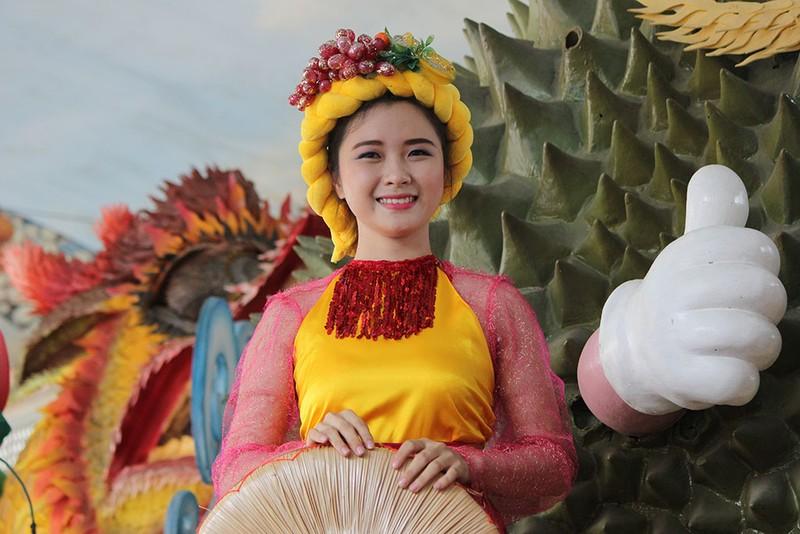 Ngắm bóng hồng xinh đẹp tại lễ hội trái cây Nam Bộ - ảnh 5