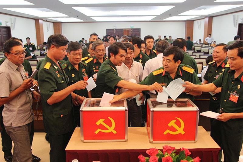 Hội CCB khối Dân–Chính–Đảng TP.HCM có chủ tịch mới - ảnh 1