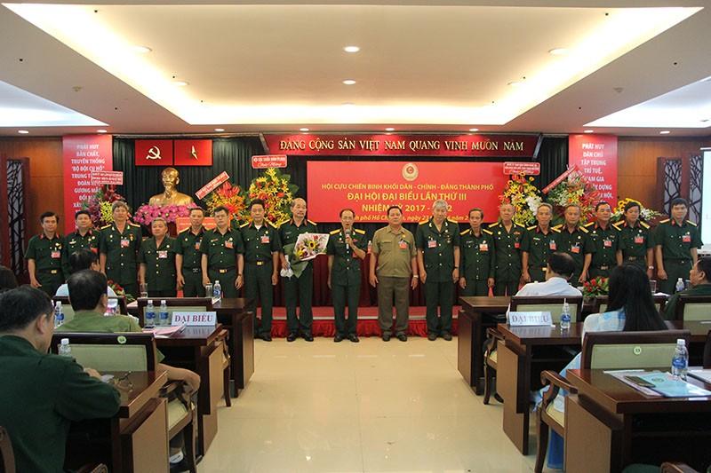 Hội CCB khối Dân–Chính–Đảng TP.HCM có chủ tịch mới - ảnh 2