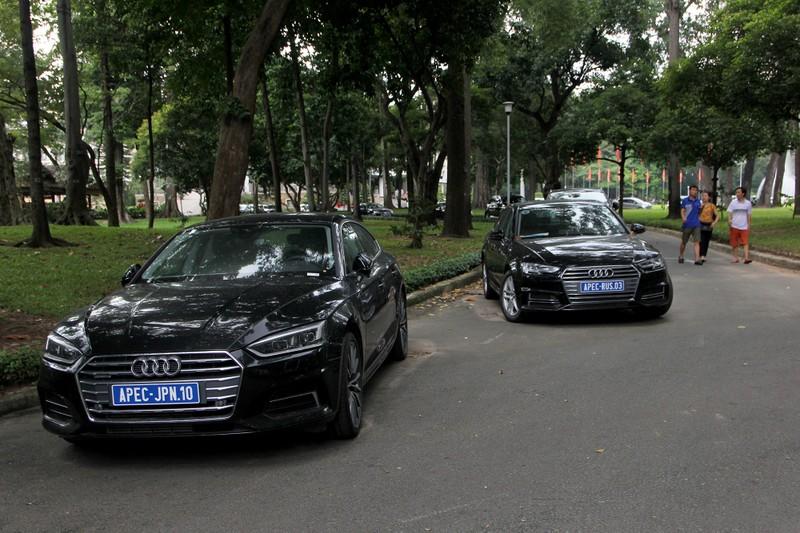 Dàn xe sang phục vụ APEC 2017 tại Hội trường Thống Nhất - ảnh 2