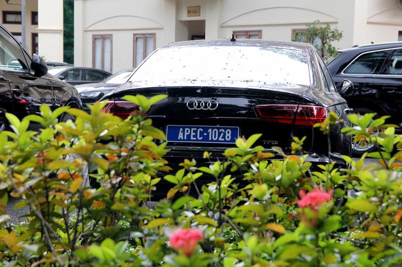 Dàn xe sang phục vụ APEC 2017 tại Hội trường Thống Nhất - ảnh 8