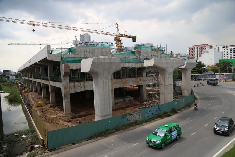 Toàn cảnh tuyến metro số 1 nằm chờ vì chậm vốn - ảnh 16