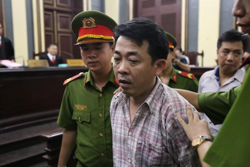 Nguyễn Minh Hùng từ thẫn thờ đến khóc ngất tại tòa - ảnh 11