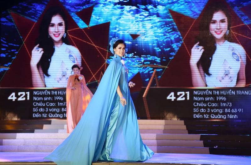 Người đẹp lộng lẫy trong đêm chung kết HH Đại dương - ảnh 5