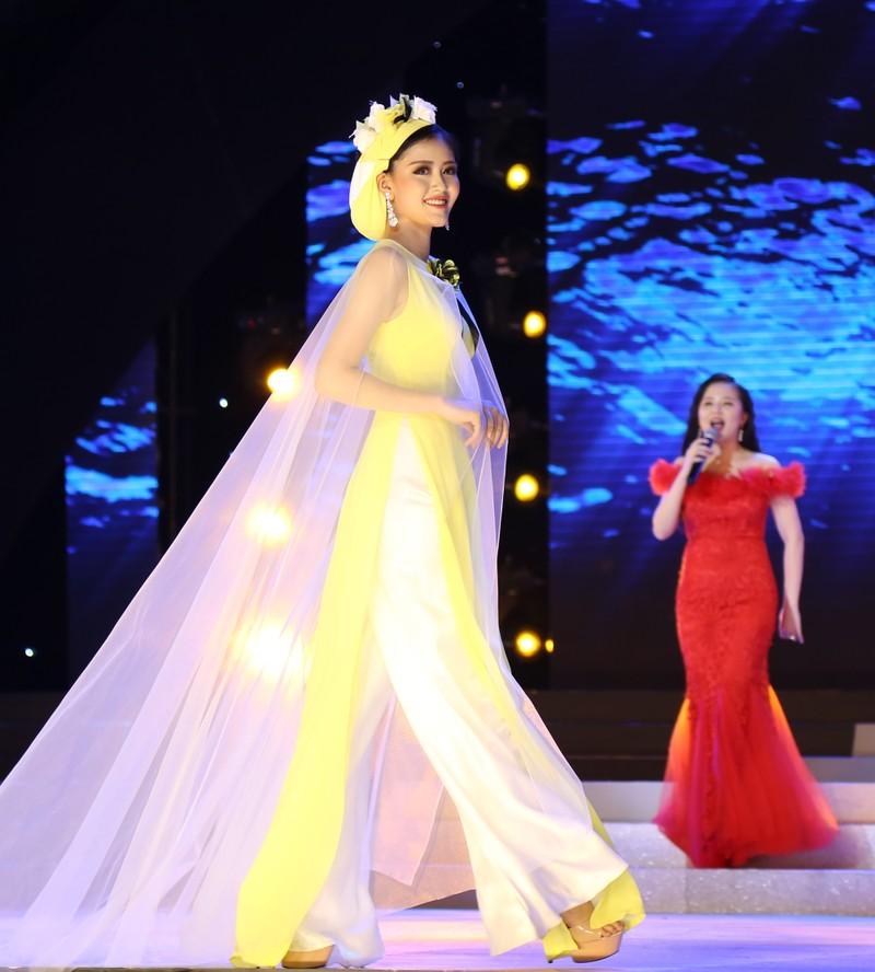 Người đẹp lộng lẫy trong đêm chung kết HH Đại dương - ảnh 6