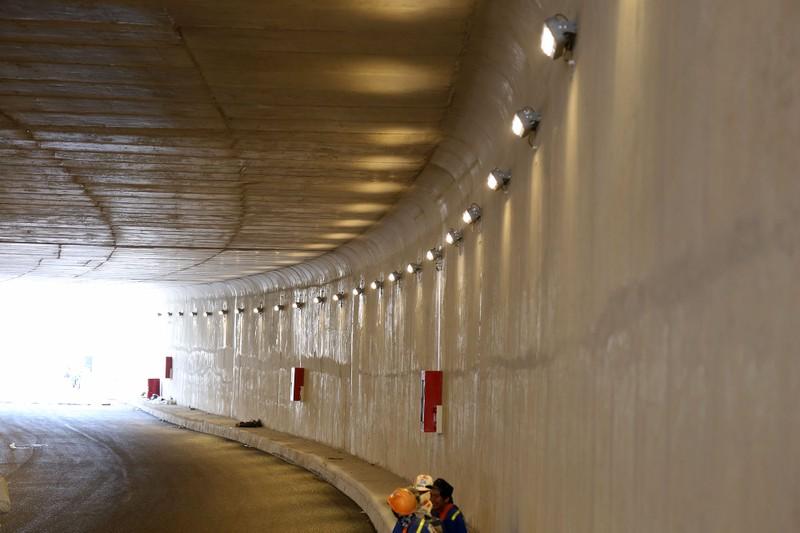 Hầm chui hơn 500 tỉ ở TP.HCM trước ngày thông xe - ảnh 8