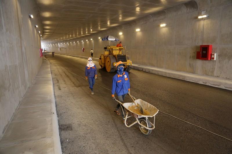 Hầm chui hơn 500 tỉ ở TP.HCM trước ngày thông xe - ảnh 3