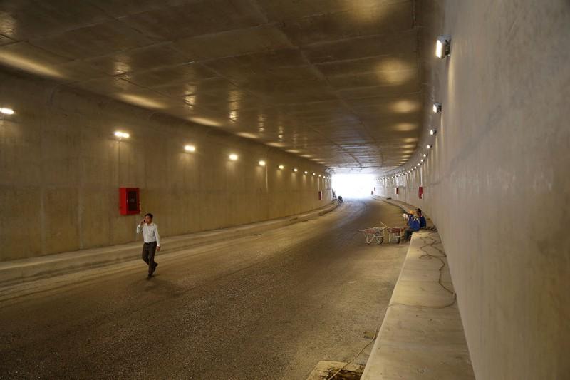 Hầm chui hơn 500 tỉ ở TP.HCM trước ngày thông xe - ảnh 4