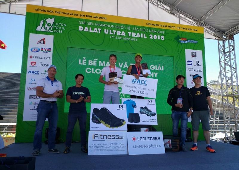 VĐV Trần Duy Quang về nhất giải Siêu Marathon quốc tế  - ảnh 2