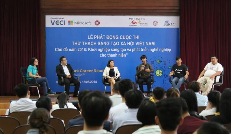 Phát động cuộc thi Thử thách sáng tạo xã hội Việt Nam 2018 - ảnh 1