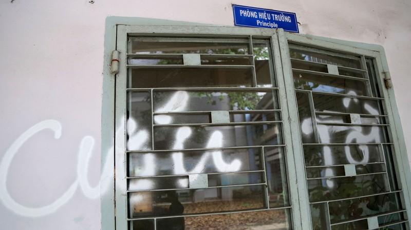 Ngôi trường tiểu học bỏ hoang gần 3 năm ở TP.HCM - ảnh 10