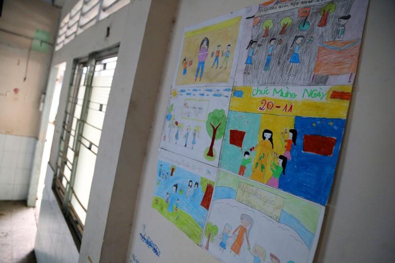 Ngôi trường tiểu học bỏ hoang gần 3 năm ở TP.HCM - ảnh 16