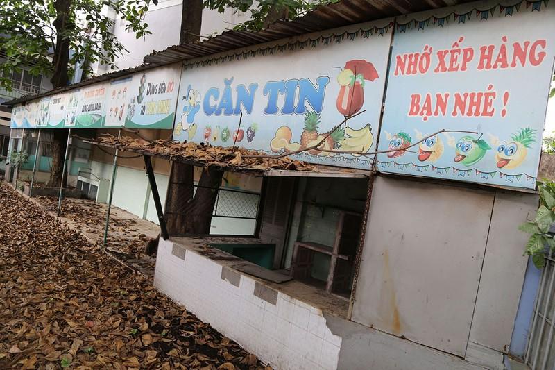Ngôi trường tiểu học bỏ hoang gần 3 năm ở TP.HCM - ảnh 3