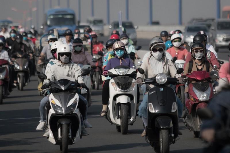 Loạt ảnh báo động về ô nhiễm không khí trên khắp Việt Nam - ảnh 10