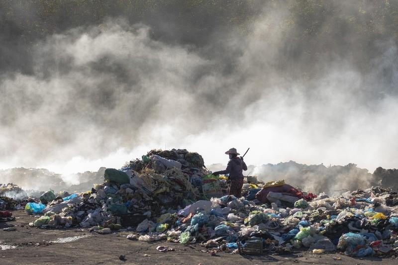 Loạt ảnh báo động về ô nhiễm không khí trên khắp Việt Nam - ảnh 13