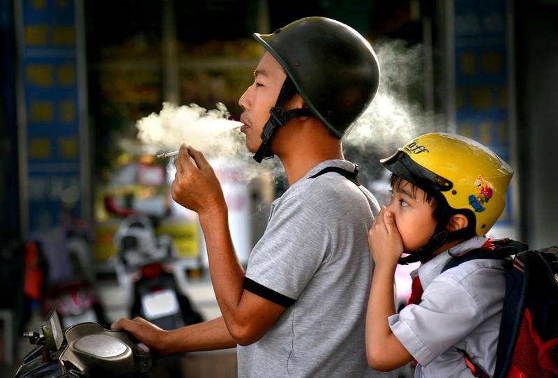 Loạt ảnh báo động về ô nhiễm không khí trên khắp Việt Nam - ảnh 14