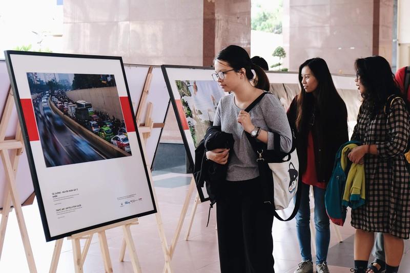 Loạt ảnh báo động về ô nhiễm không khí trên khắp Việt Nam - ảnh 1