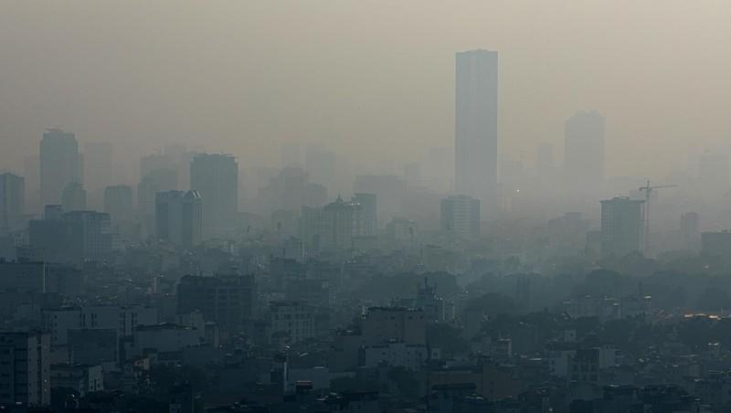 Loạt ảnh báo động về ô nhiễm không khí trên khắp Việt Nam - ảnh 6
