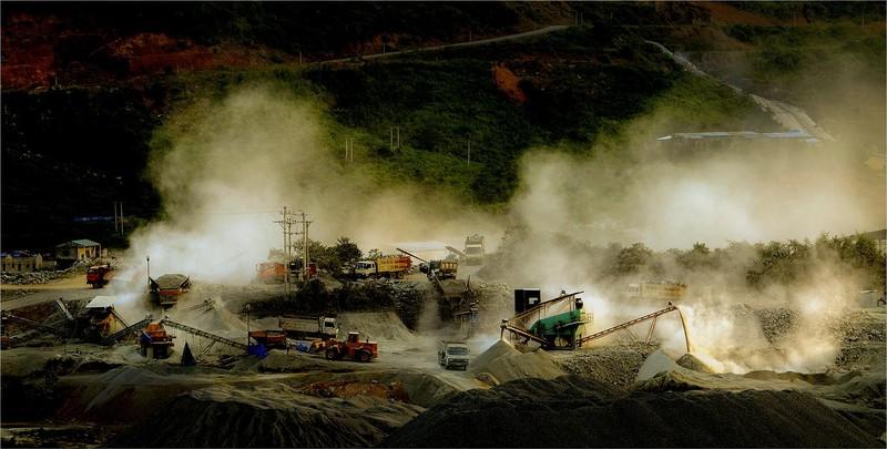 Loạt ảnh báo động về ô nhiễm không khí trên khắp Việt Nam - ảnh 9