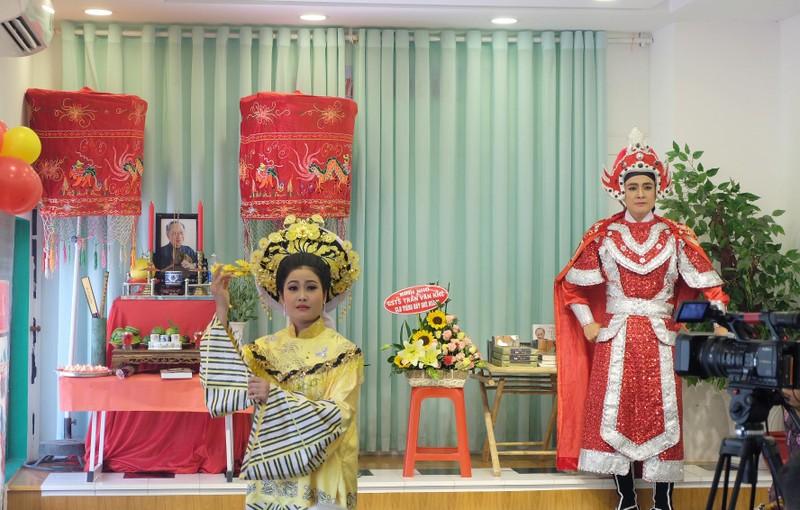 Xúc động lễ tưởng niệm 4 năm ngày mất cố GS-TS Trần Văn Khê - ảnh 2