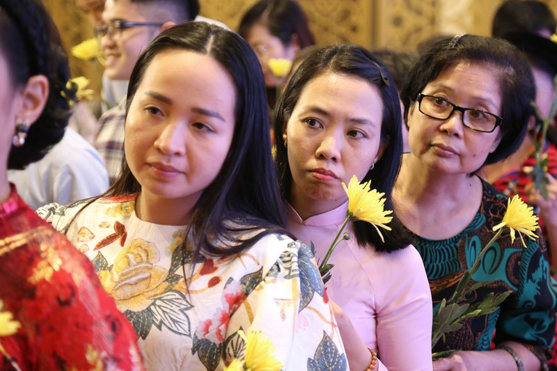 Học trò tưởng niệm 5 năm ngày mất cố GS.TS Trần Văn Khê - ảnh 3