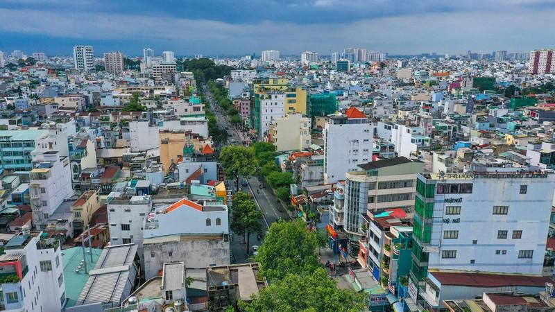 Cận cảnh đoạn đường Đinh Tiên Hoàng sắp đổi thành Lê Văn Duyệt - ảnh 1
