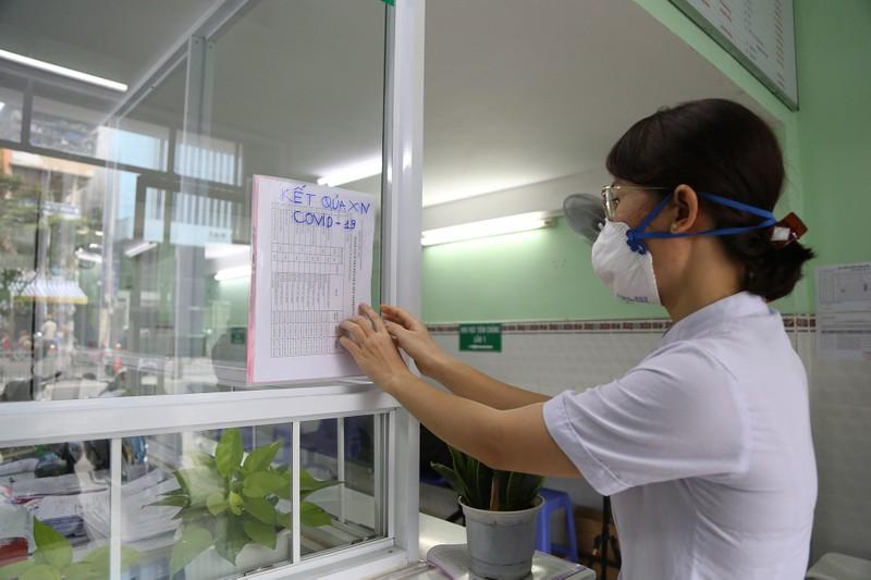 Xem quy trình xét nghiệm COVID-19 cho người về từ Đà Nẵng - ảnh 11