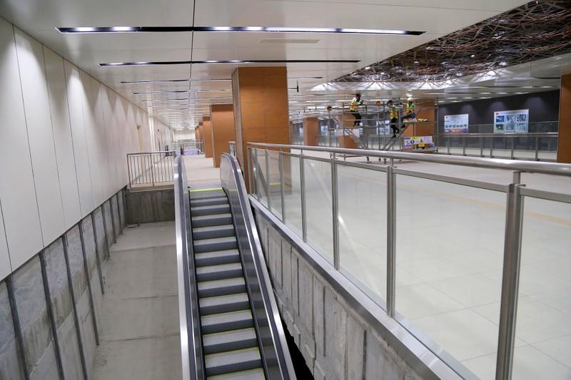 Ngắm diện mạo toàn tuyến metro số 1 sắp về đích - ảnh 5