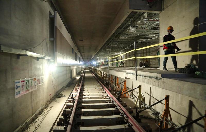 Ngắm diện mạo toàn tuyến metro số 1 sắp về đích - ảnh 7