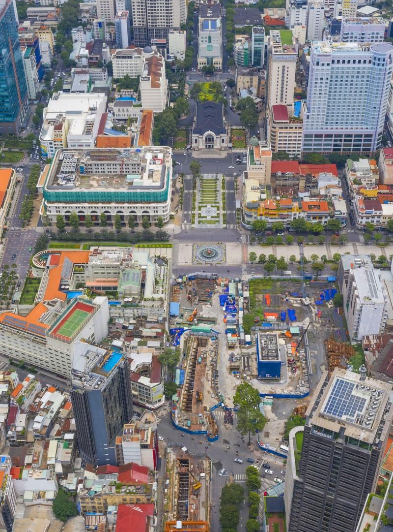 Ngắm diện mạo toàn tuyến metro số 1 sắp về đích - ảnh 3