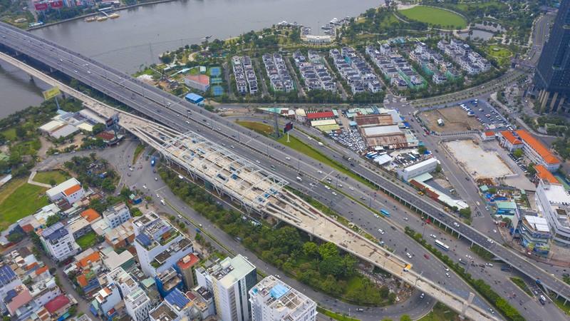 Ngắm diện mạo toàn tuyến metro số 1 sắp về đích - ảnh 15
