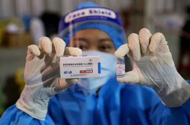 Chùm ảnh: Người dân TP.HCM tiêm vaccine Vero Cell  - ảnh 8
