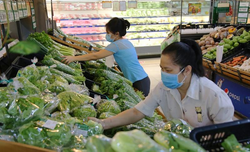 Chùm ảnh người dân quận 7 những ngày đầu tự đi siêu thị  - ảnh 6