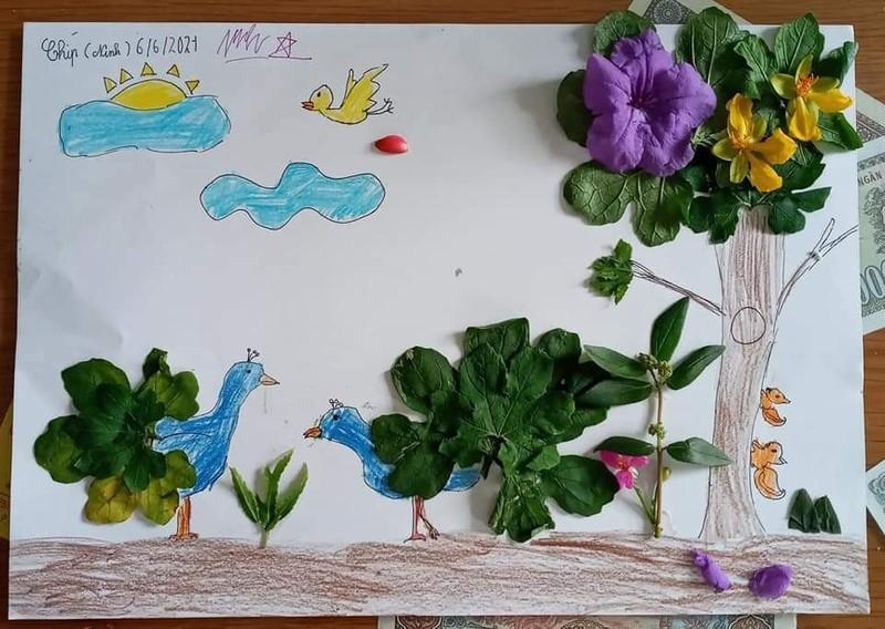 Mùa hè có dịch: Con trở thành nghệ sĩ, đầu bếp, nhà thực vật học,... - ảnh 3