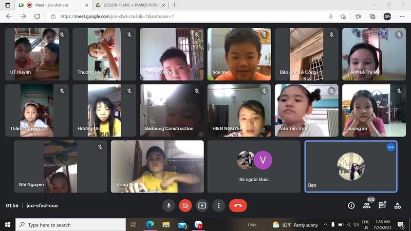 Lớp dạy tiếng Anh online miễn phí cho học sinh tiểu học mùa dịch COVID-19 - ảnh 2