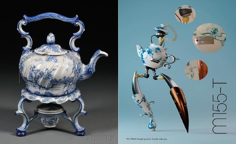 Khi khoai lang, ấm trà, áo tứ thân trở thành... robot  - ảnh 2