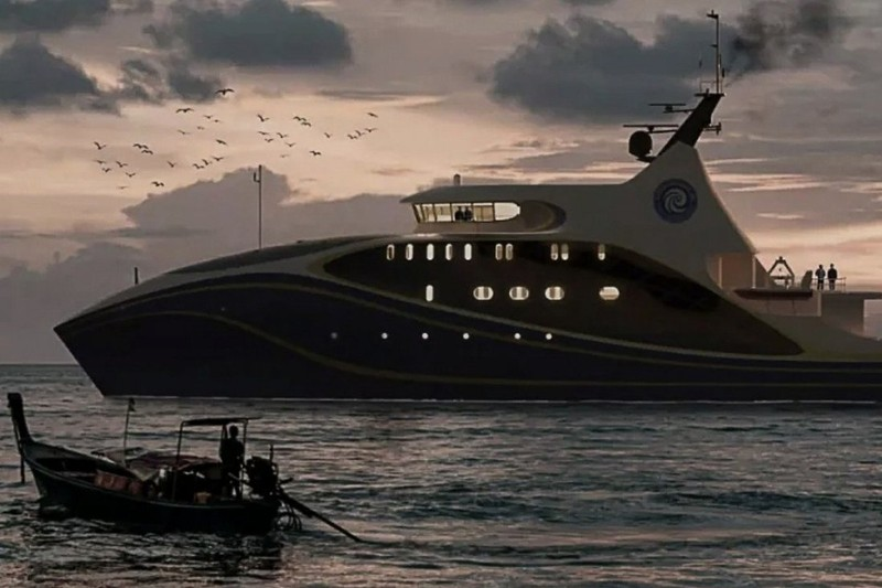 Trung Quốc đóng tàu 'nghiên cứu biển' không người lái  - ảnh 1