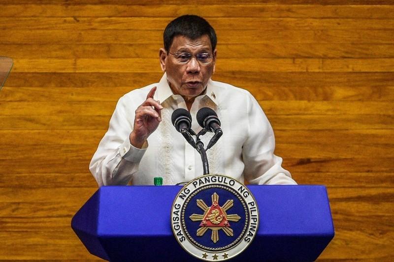 Ông Duterte tuyên bố rắn về Biển Đông, Trung Quốc trong bài phát biểu cuối - ảnh 1