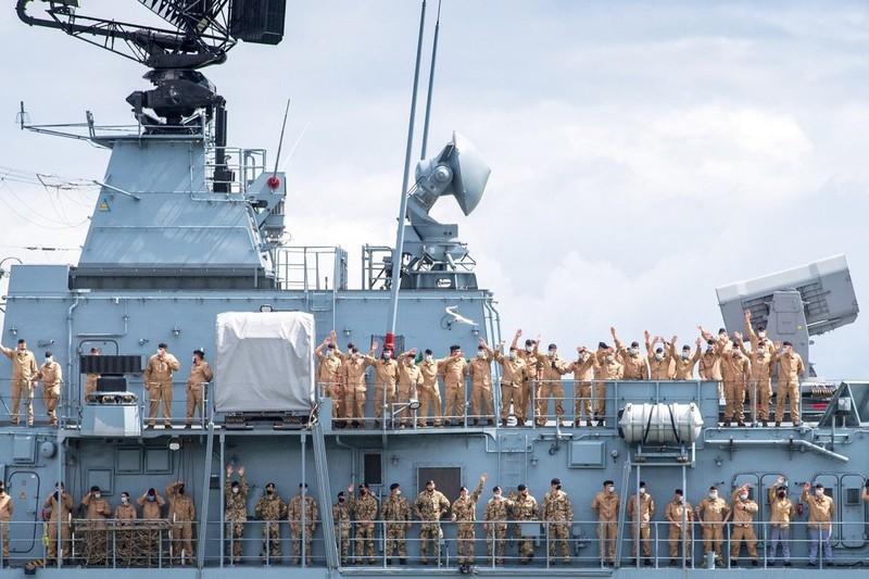 Tàu khu trục Đức đến ÂĐD-TBD để 'đảm bảo một trật tự quốc tế dựa trên luật lệ' - ảnh 1