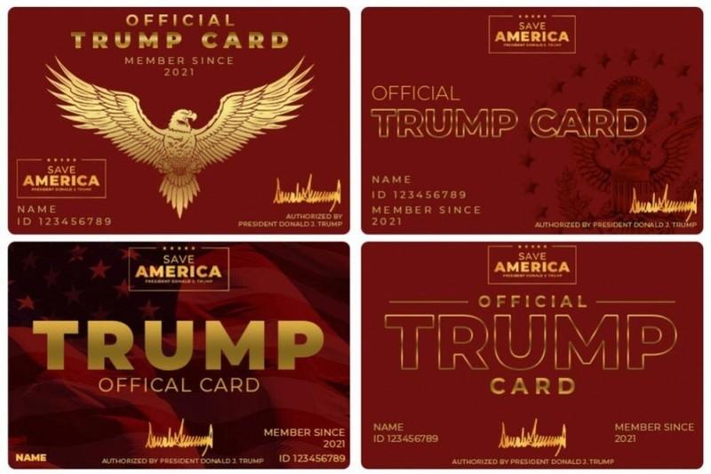 Ông Trump sắp ra mắt 'thẻ Trump' cho những người ủng hộ mình nhiệt tình nhất - ảnh 1