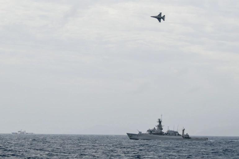 Phát hiện tàu TQ và Mỹ ở gần quần đảo Natuna, Indonesia tăng cường tuần tra - ảnh 1
