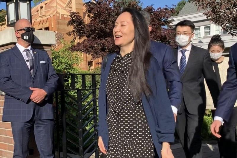 Đạt được thỏa thuận với Mỹ, bà Mạnh Vãn Châu chính thức được thả về Trung Quốc - ảnh 1