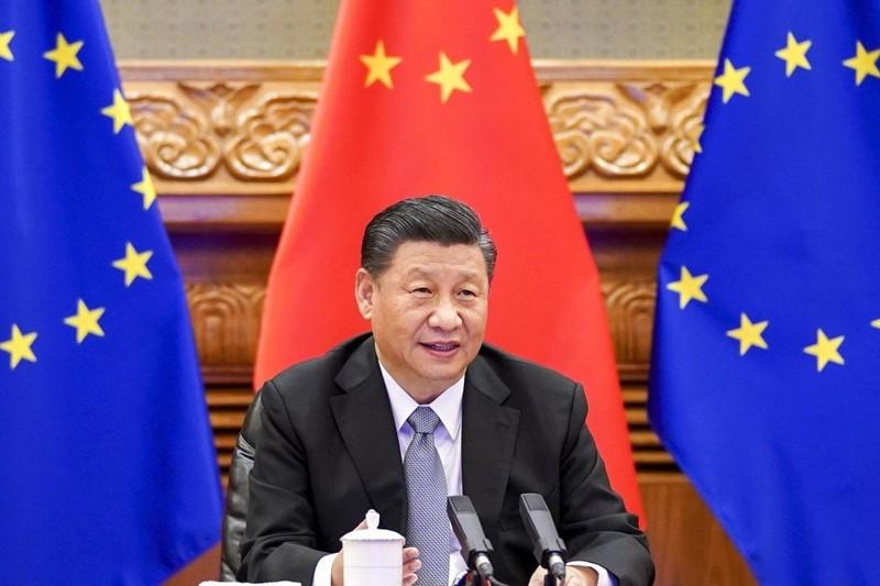 EU thúc đẩy điện đàm với ông Tập để xoa dịu căng thẳng với Bắc Kinh - ảnh 1